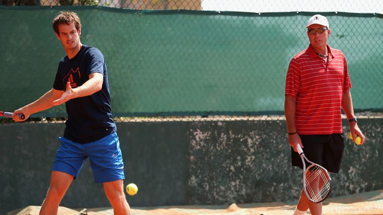 Andy Murray prepares for Madrid with coach Ivan Lendl