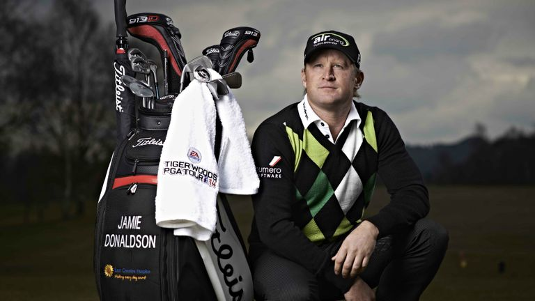 Jamie Donaldson: Welsh golfer is aiming high at the Augusta National