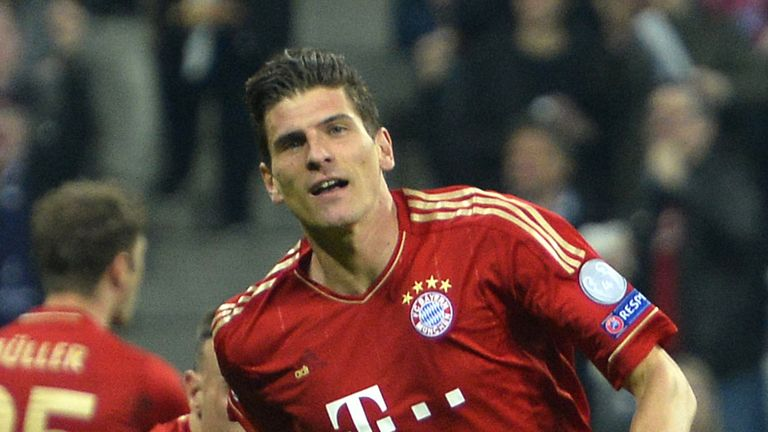 Mario Gomez: The Germany striker's agent says he is set to leave Bayern Munich this summer