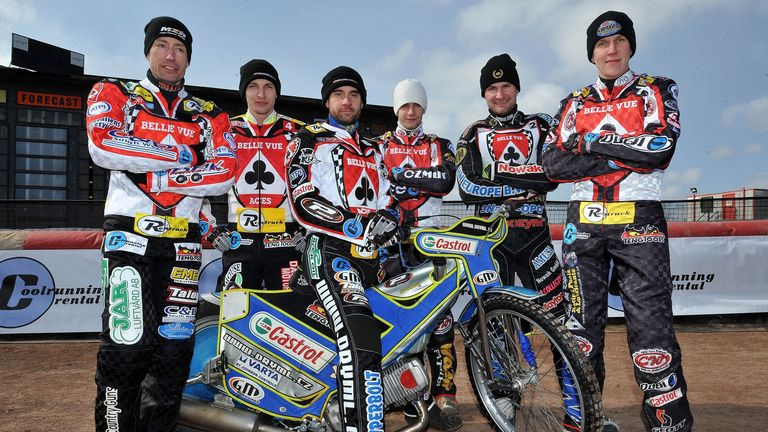 Belle Vue Aces: Have completed team
