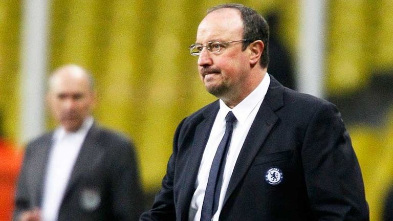 Raaf Benitez: Confident he leaves Chelsea in a stronger position than when he arrived