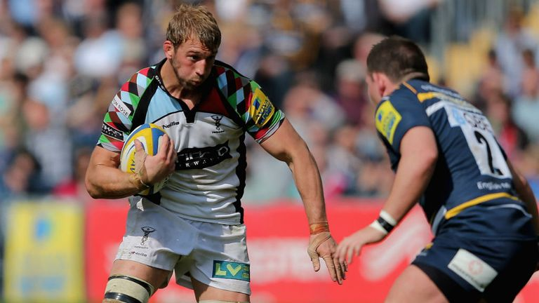 Harlequins and England skipper Chris Robshaw set to have summer off