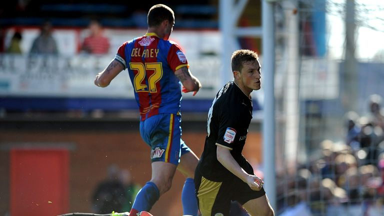 Chris Wood equalises for visiting Leicester