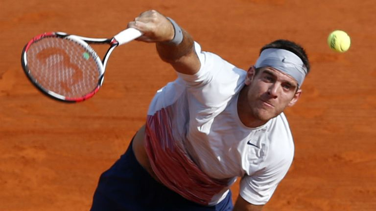 Juan Martin Del Potro: The Argentine stumbled into last 16