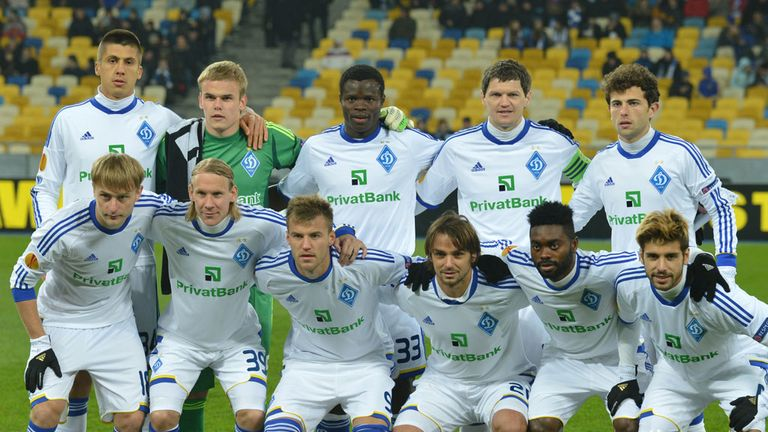 Dynamo Kiev: Will play a European match behind closed doors
