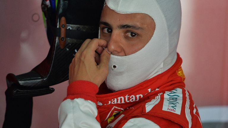 Felipe Massa: On the pace and at the front in final practice