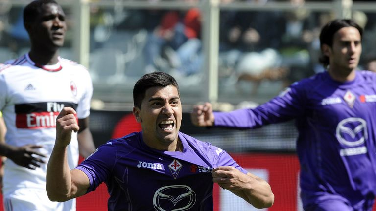 David Pizarro: Netted Fiorentina's opener from the spot