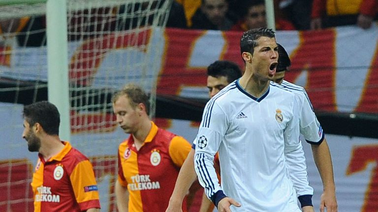 Cristiano Ronaldo: Real Madrid ace scored twice against Galatasaray