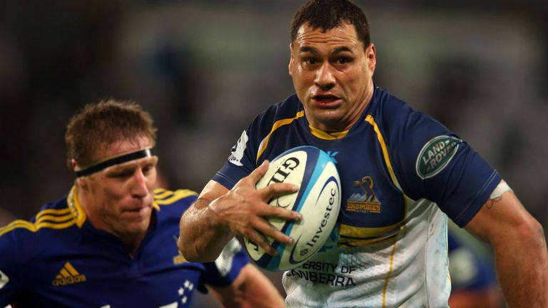 George Smith: Has been in sensational form for the Brumbies