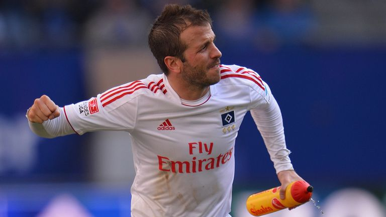 Rafael van der Vaart: Impressed with side