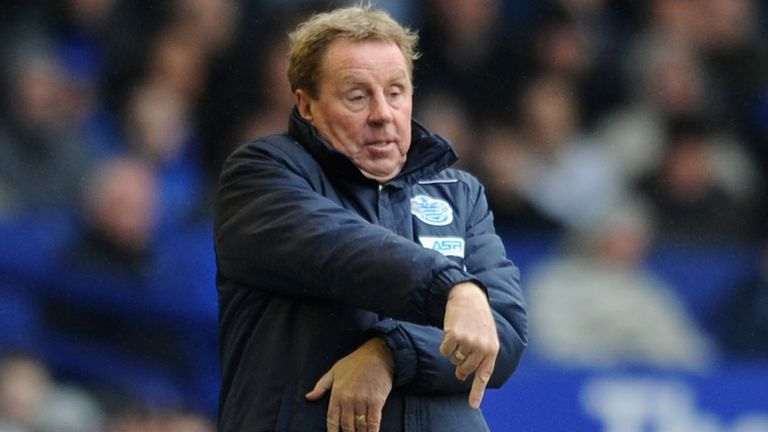 Harry Redknapp: Unimpressed with Loftus Road pitch