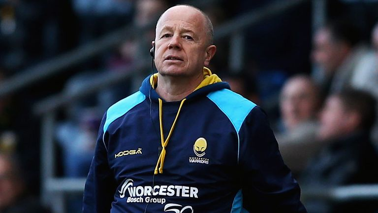 Richard Hill: No longer Worcester Warriors coach
