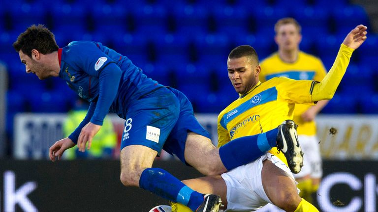 Mehdi Abeid: Brings down Ross Draper in the 0-0 draw at Inverness