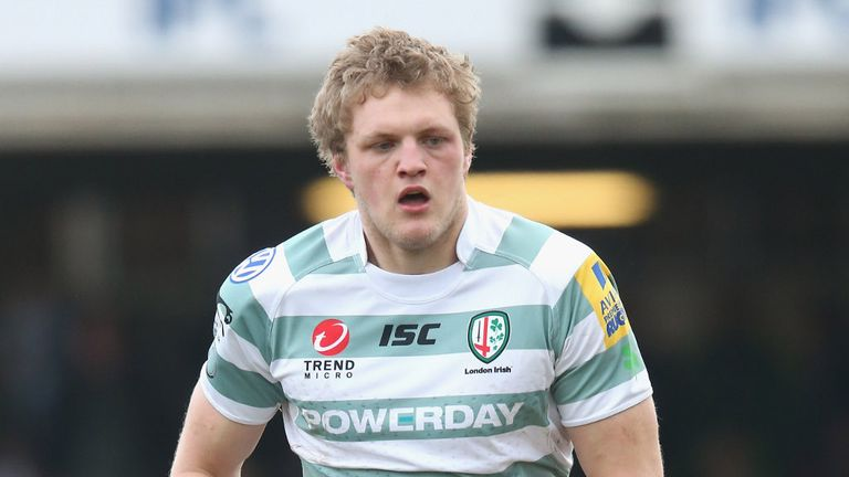 Jamie Gibson: Has confirmed his exit from London Irish