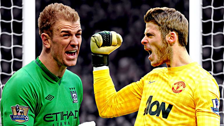 Joe Hart and David de Gea: Is this the real power shift in Manchester?