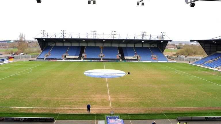 Kassam Stadium: Hosting York on April 18