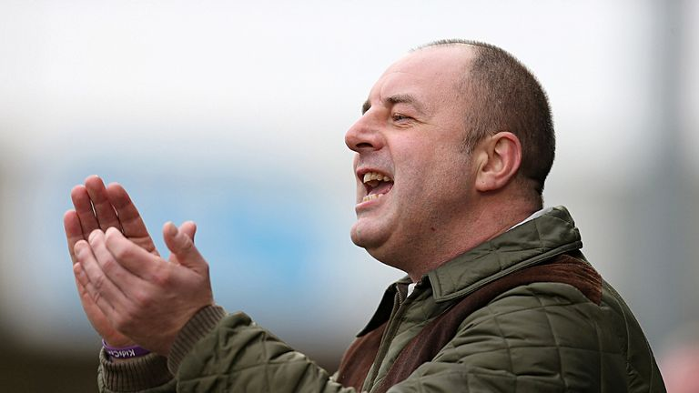 Keith Hill: Pleased to break Vale Park hoodoo