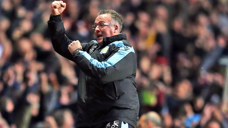 Paul Lambert lauded Benteke after the Belgian's hat-trick
