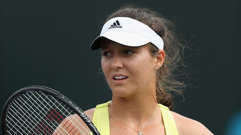 Laura Robson: Eliminated in opening round of the Katowice Open in Poland