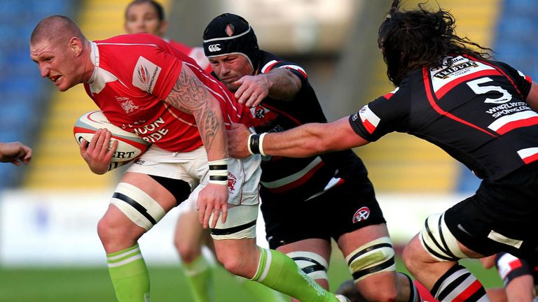 Lee Beach: Has had a great four years at London Welsh