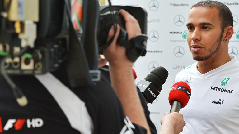 Lewis Hamilton: Welcome at McLaren in anywhere but the garage says Whitmarsh