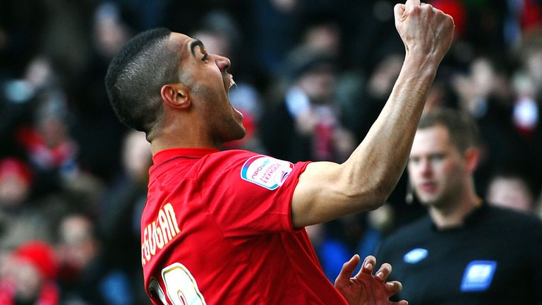 Lewis McGugan: On target again for Forest in draw with Blackpool