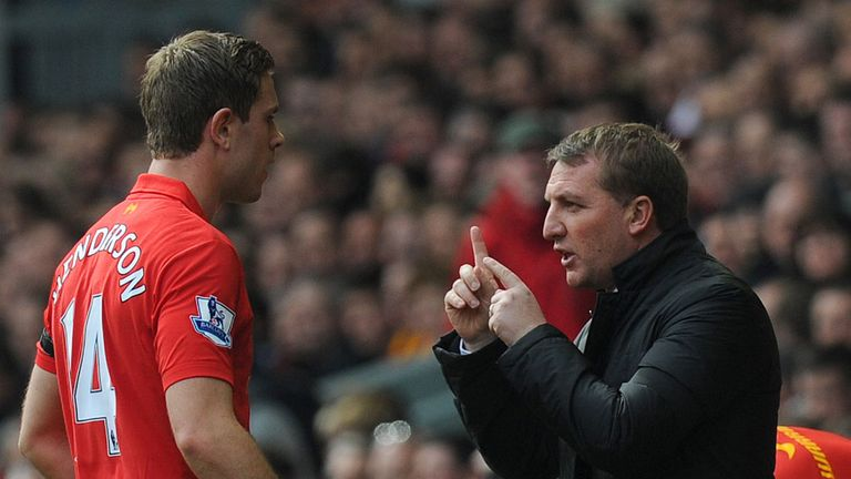 Jordan Henderson: Says Brendan Rodgers has made him tactically aware