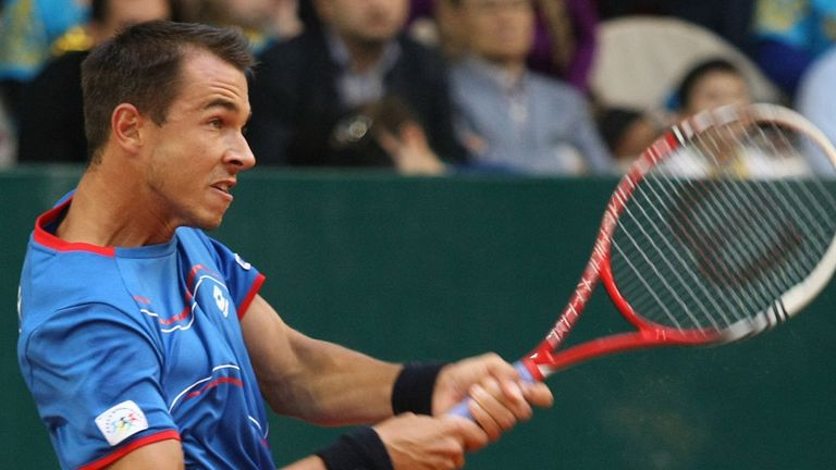 Lukas Rosol: Suffered eight successive first round defeats earlier in 2013