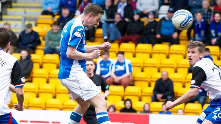 Steven MacLean: Scores St Johnstone's goal in the victory over Inverness Caley