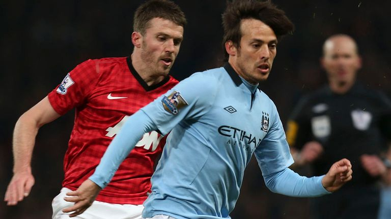 David Silva: Had to be withdrawn in the closing stages at Old Trafford