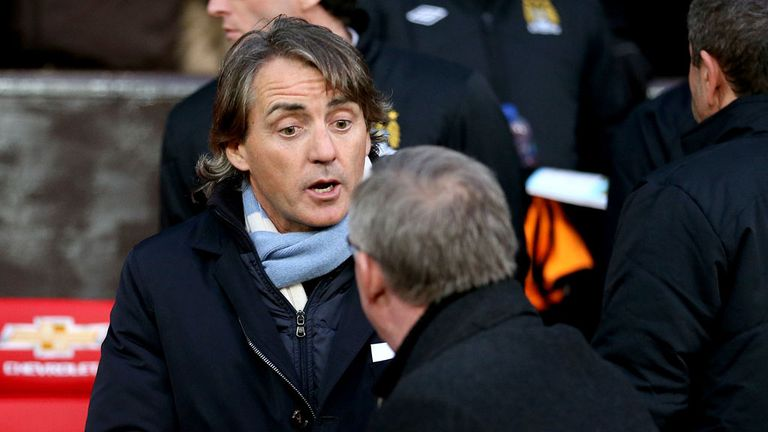 Sir Alex Ferguson was unhappy with claims made by Roberto Mancini