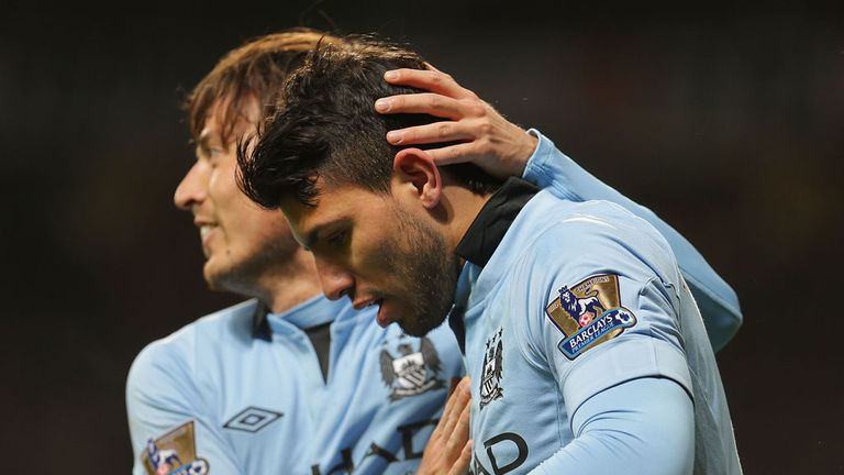 Sergio Aguero: Stepped off the bench to decide Manchester derby
