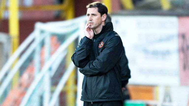Jackie McNamara: Admits Dundee United are running out of steam