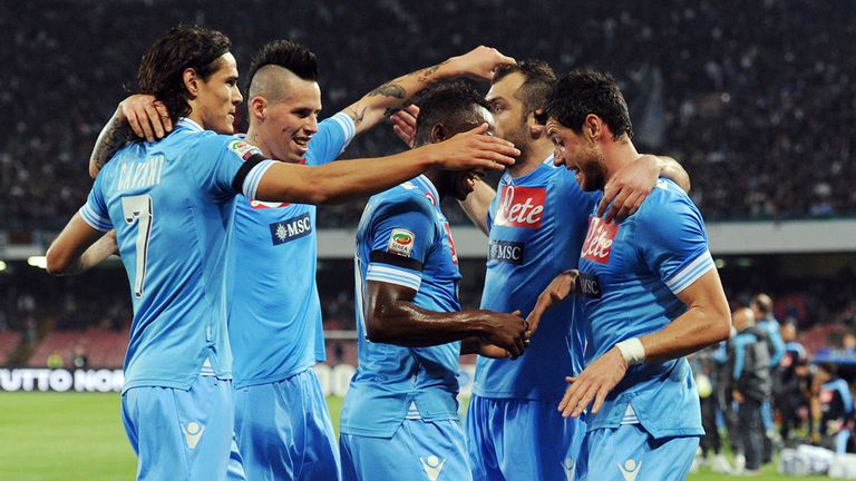Napoli: Looking to secure second spot