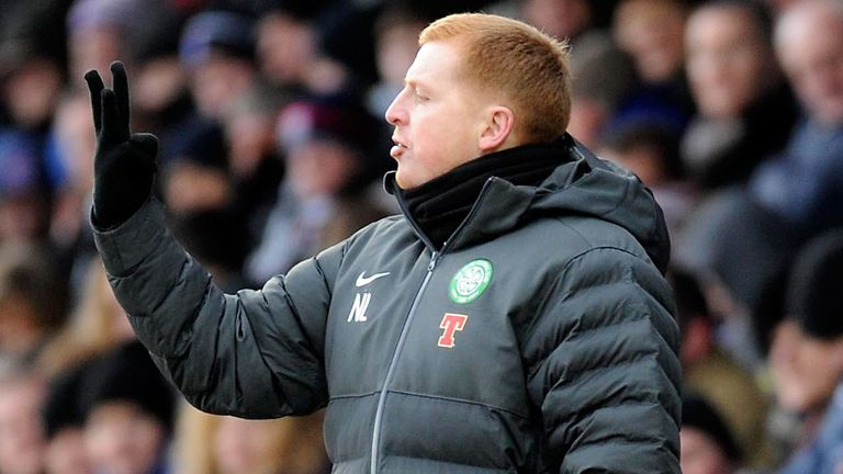 Neil Lennon will have to watch celtic from the stand for the next three games
