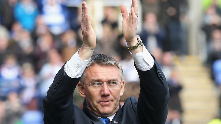 Nigel Adkins: New Reading boss keen to establish momentum
