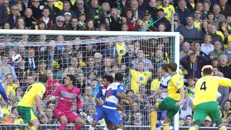 Ryan Bennett headed Norwich's opener against Reading