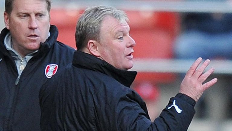 Steve Evans: Has overseen three successive promotions