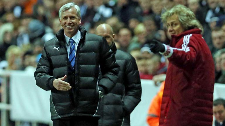 Alan Pardew: Delighted with Newcastle's display