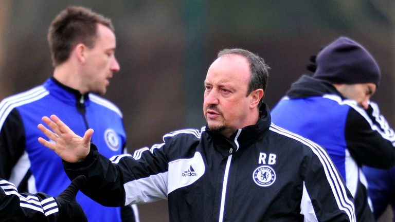 Rafa Benitez: Hoping to lead his team into two cup finals this season