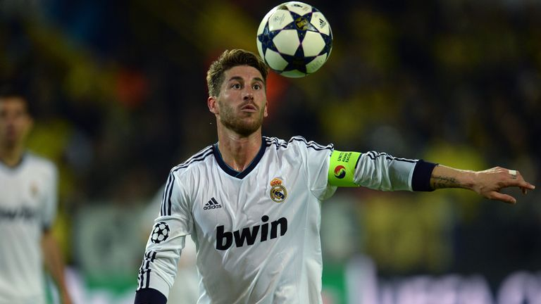 Sergio Ramos: Accepts Dortmund were the better team on Wednesday