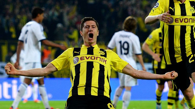 Robert Lewandowski: Setting his sights on reaching the final