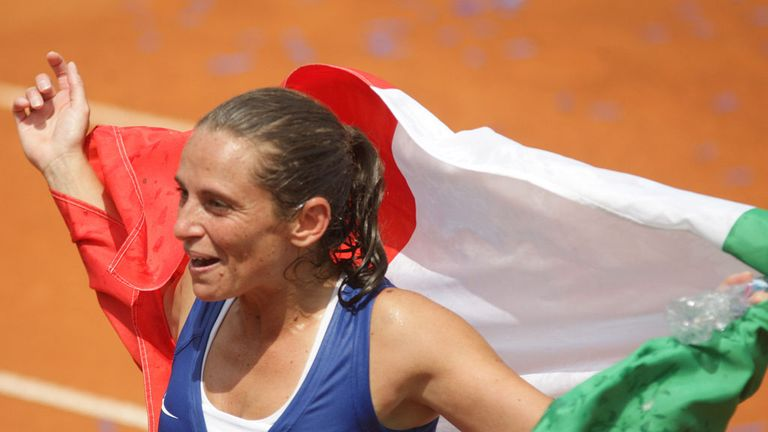 Roberta Vinci: Saw off doubles partner Sara Errani to win in Palermo