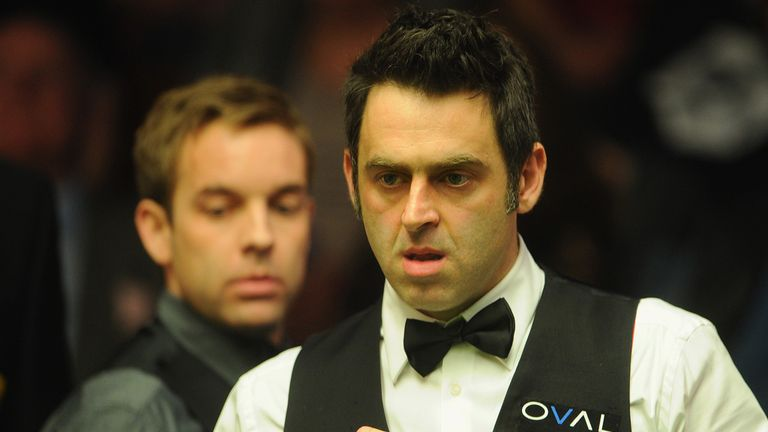 Ronnie O'Sullivan: Turned on the style in the final session