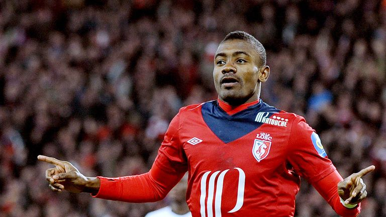 Salomon Kalou: The striker has been linked with a move to Arsenal