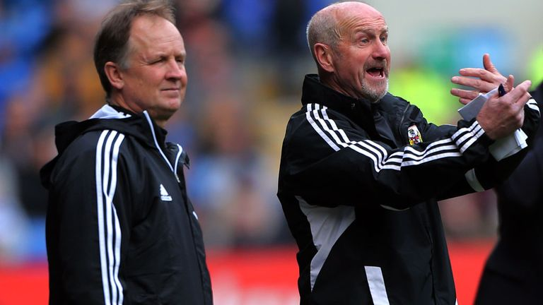 Sean O'Driscoll: Planning to rebuild Bristol City after relegation