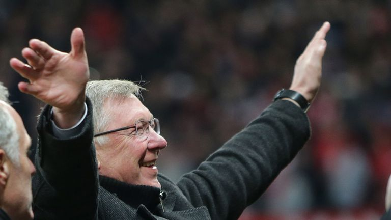 Sir Alex Ferguson: Going nowhere