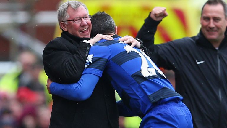 United and their manager Sir Alex Ferguson put their title hunt back on track