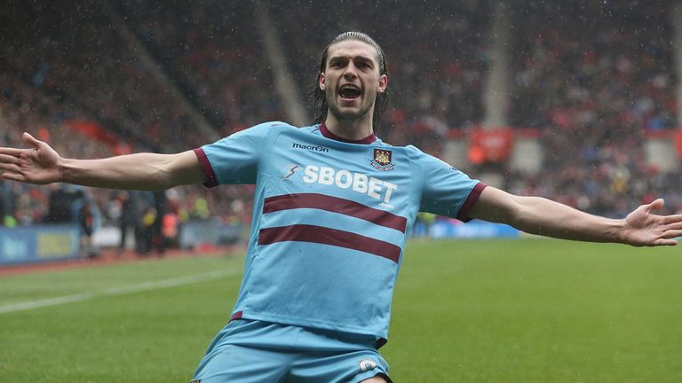 Andy Carroll: Has hit an improved run of form for West Ham