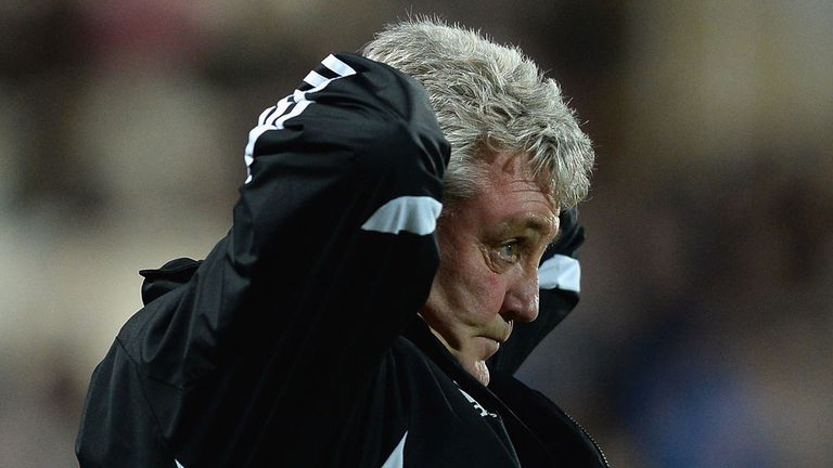 Steve Bruce: Felt Hull City were spooked by the occasion